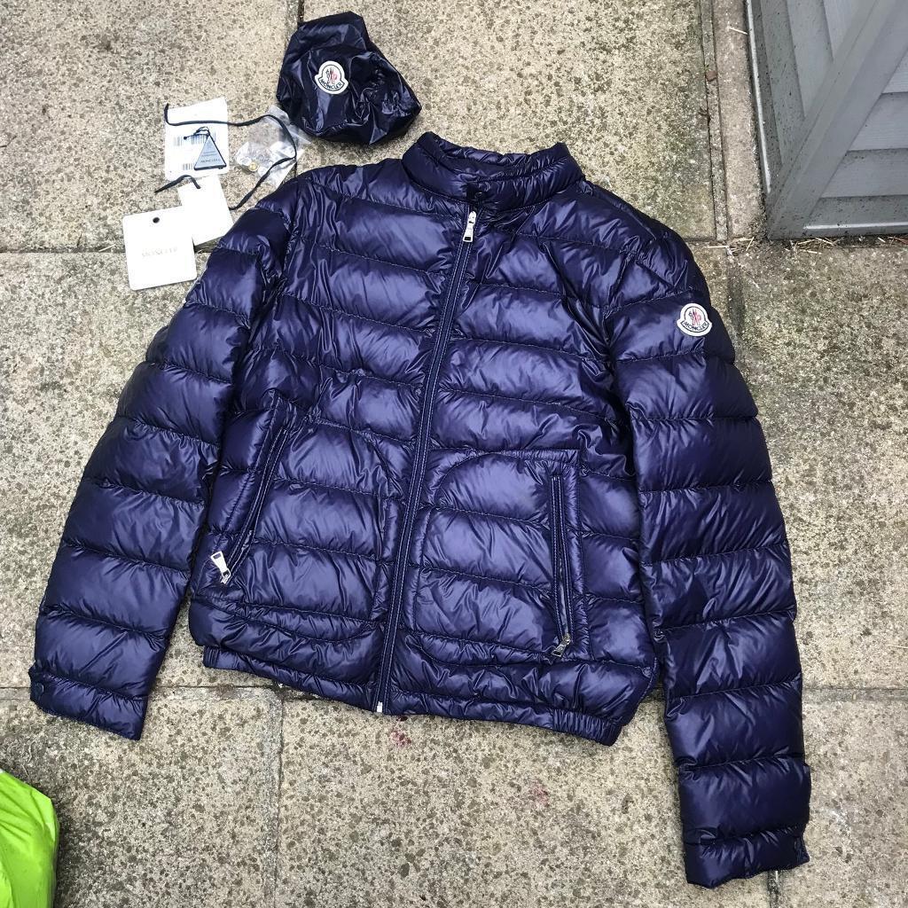 Moncler bomber jacket size 14