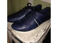 Women's ECCO navy flat shoe size 40