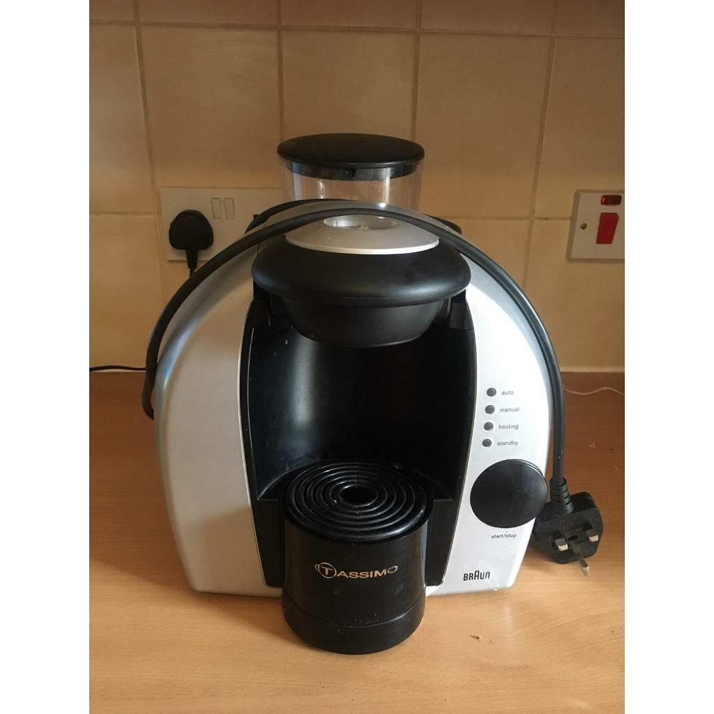 Braun Tassimo Coffee Machine Free In Bradford On Avon