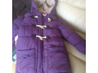 Girls Coat by John Lewis. Excellent condition. Age 8