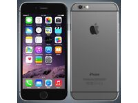Iphone 6 16 GB space grey, Brand new screen 6 month warranty