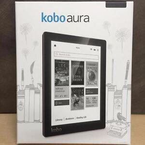 "Kobo Aura 6"" Digital eBook Reader With Touchscreen 4 GB WIFI - Black"