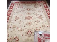 Persian style rug Garous Super first to see will buy this brand new peice reduced from £2900 see pic