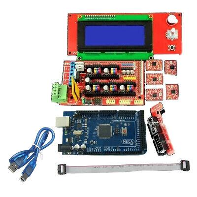 3d Printer Kit Ramps 1.4 Mega2560 A4988 2004 Lcd Controller Arduino Reprap