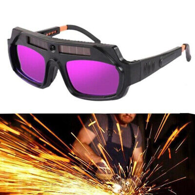 Automatic Dimming Welding Glasses Goggles Solar Auto Darkening Anti-glare