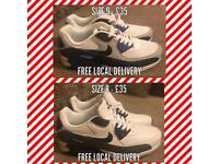 Nike air max men's trainers size 8 and 9