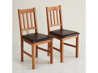 set of two dinning chairs