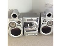 Jvc super bass speakers and stereo