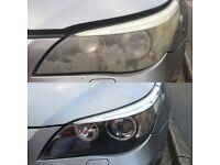 Headlights restoration! Bmw,mercedes,volvo,audi,honda,astra,vectra,vw,toyota,clio,mazda,seat,nissan