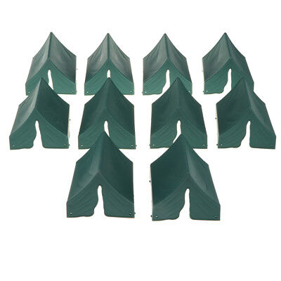 10PCS Toy Soldier Figures Army Men Accessories -Tent Green