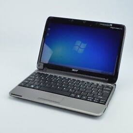 Acer ZA3 Netbook Laptop 2GB 160GB Intel Atom 1.33GHz Win7