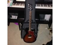Prs one with gig bag in excellent condition