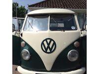 Volkswagen VW Splitscreen Camper LHD 1966 T2