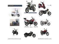 NEW MOTORCYCLES AND SCOOTERS FROM £1299 -SINNIS-LEXMOTO-KIDEN-YAMAHA-HONDA ETC FINANCE AVAILABLE