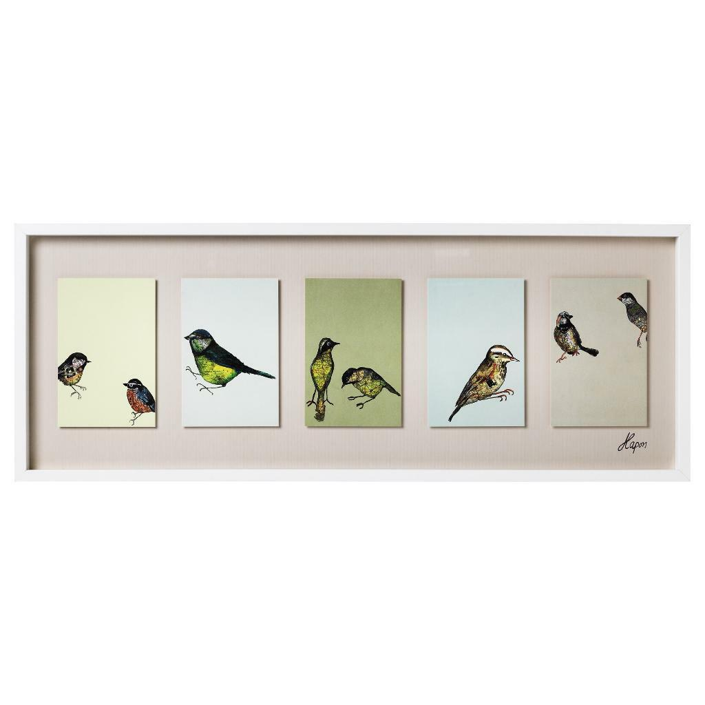 Ikea Olunda Bird Print By Jenny Kapon In Tooting