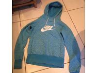 Nike blue hoodie sweatshirt size small
