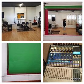 Photography and rehearsal space to hire