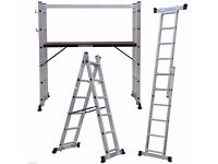 5 way platform ladder (brand new)