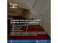 Looking for rooms to rent near me in Huddersfield?