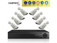 CCTV Recorder DVR 8 Channel CCTV Bullet 1080P 2MP Camera system kit package Kit