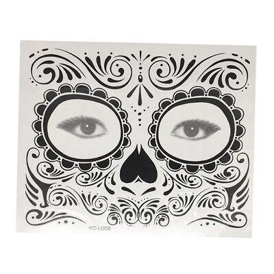 Halloween Safe Wasserdicht Temporäre Augen Tattoo Gesicht Aufkleber Kit