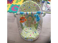 Baby Bouncer with melody and vibration for sale £20