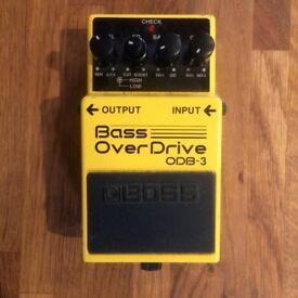 Roland Boss ODB-3 Bass Guitar Overdrive Pedal