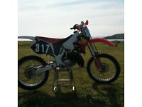 Honda Cr 125 1997 motocross bike