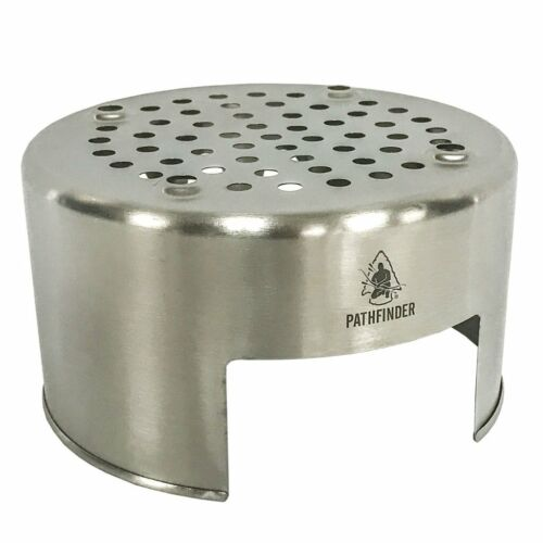 Stainless Steel Bush Pot Stove   FREE USA Delivery!