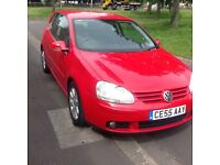 2005/55 vw golf 2.0 gt tdi 3 door with history