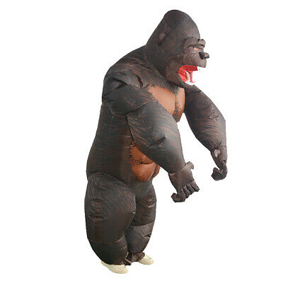 Aufblasbare Kostüme Halloween Party Lustige Gorilla Suits Cosplay Foto