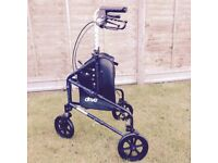 Drive 3 wheel mobility rollator