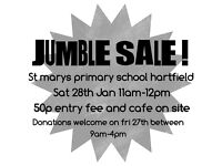 Jumble Sale 28th Jan