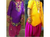 Indian pakistani Asian party wedding dress girls clothes 4_5