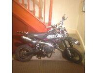 125cc super stomp pit bike