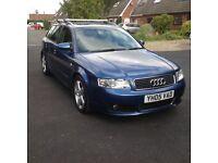 Audi A4 Avant 1900 TDI (estate) blue