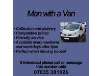 Man with a van Service / Garden Maintenance Service