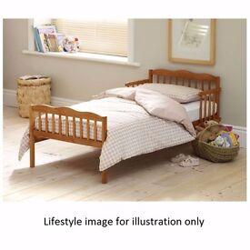 Saplings Junior / Toddler Bed (Antique Country Pine) No mattress