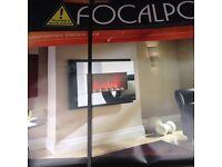 Brand new focal point fire