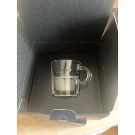 Nespresso- View Espresso Cup and Saucer (x2)