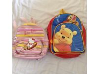 Hello Kitty and Winnie the Pooh children's small bags