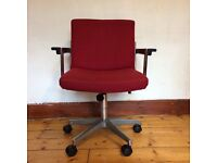 SWIVEL office chair, retro 90s vintage.
