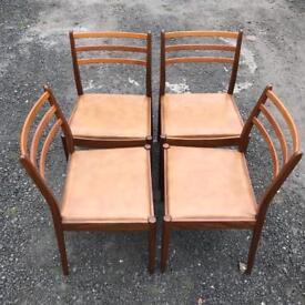 Vintage GPLAN Teak dining chairs