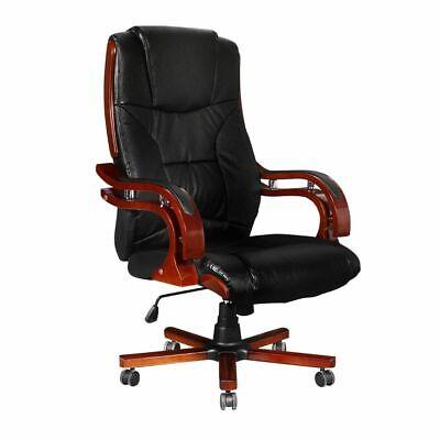 vidaXL Bureaustoel Zwart Directiestoel Werkstoel Kantoorstoel Stoel Stoelen