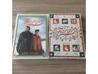 Fargo dvd complete first season all 10 episodes and Fargo Year 2 all 10 episodes