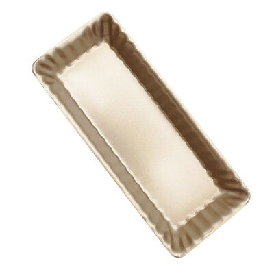 Stainless Steel Flan Tin Cake Mould Pie Quiche Baking Pan 22.5x7.3x3.1cm Flan Pan