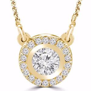 14K YELLOW GOLD DIAMOND PENDANT .50 CTW / PENDENTIF À DIAMANTS SUR OR JAUNE .50 CARAT TOTAL