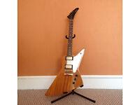 """Epiphone """"1958"""" Korina Explorer Electric Guitar"""