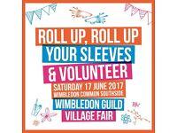 Volunteer at Wimbledon Guild Village Fair 2017