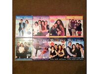 Will & Grace DVD's series 1 to 8